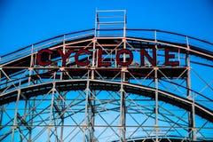 Κυκλώνας, Coney Island στοκ εικόνες