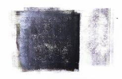 Κυλημένο ακρυλικό χρώμα που απομονώνεται στο άσπρο υπόβαθρο στοκ εικόνες με δικαίωμα ελεύθερης χρήσης