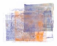 Κυλημένο ακρυλικό χρώμα που απομονώνεται στο άσπρο υπόβαθρο απεικόνιση αποθεμάτων