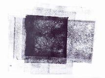 Κυλημένο ακρυλικό χρώμα που απομονώνεται στο άσπρο υπόβαθρο στοκ εικόνα με δικαίωμα ελεύθερης χρήσης