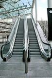 κυλιόμενες σκάλες δύο Στοκ Εικόνες