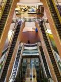 Κυλιόμενες σκάλες στη λεωφόρο της Ιστανμπούλ Στοκ Φωτογραφία