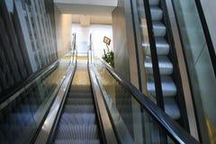 κυλιόμενες σκάλες Στοκ Φωτογραφία