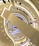 Κυλιόμενη σκάλα λεωφόρων αγορών Στοκ Εικόνες