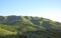 Κυλώντας βουνοπλαγιά στοκ φωτογραφία με δικαίωμα ελεύθερης χρήσης