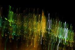 Κυμαιμένος φως και ακτίνες Στοκ Εικόνες