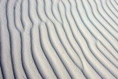 Κυματίζοντας άμμος Στοκ εικόνες με δικαίωμα ελεύθερης χρήσης