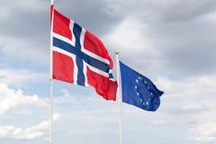 κυματίζοντας αέρας σημαιών στοκ φωτογραφία με δικαίωμα ελεύθερης χρήσης