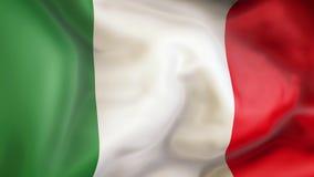 Κυματίζοντας σημαία της Ιταλίας, πατριώτης της Ιταλίας ελεύθερη απεικόνιση δικαιώματος