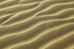 κυματισμένη άμμος Στοκ εικόνα με δικαίωμα ελεύθερης χρήσης