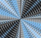 Κυματισμοί νερού και οδικό καλειδοσκόπιο Στοκ φωτογραφία με δικαίωμα ελεύθερης χρήσης