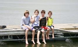 κυματισμός αγοριών στοκ εικόνα