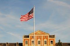 κυματισμός αμερικανικών &si στοκ φωτογραφία