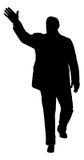 κυματισμός ατόμων Στοκ εικόνες με δικαίωμα ελεύθερης χρήσης