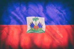 Κυματισμός σημαιών της Αϊτής διανυσματική απεικόνιση