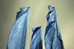 κυματισμός σημαιών Στοκ Εικόνα