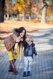 Κυματισμός στο φθινόπωρο Στοκ εικόνες με δικαίωμα ελεύθερης χρήσης
