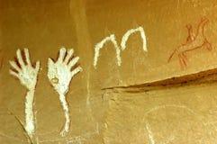 κυματισμός χεριών Στοκ Εικόνα