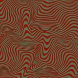 Κυματιστά λωρίδες Groovy Στοκ Εικόνες