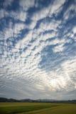 Κυματιστά σύννεφα Στοκ φωτογραφία με δικαίωμα ελεύθερης χρήσης