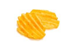 Κυματιστά τσιπ πατατών Στοκ Εικόνα