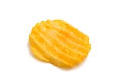 Κυματιστά τσιπ πατατών Στοκ εικόνα με δικαίωμα ελεύθερης χρήσης