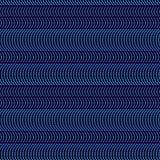 Κυματιστές γραμμές σημείων άνευ ραφής Στοκ Φωτογραφίες