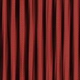 Κυματιστή κόκκινη κουρτίνα άνευ ραφής Στοκ Φωτογραφίες