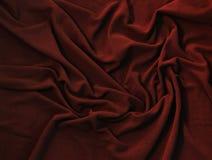 Κυματιστή σύσταση βαθιά - κόκκινο δέρας στοκ εικόνες