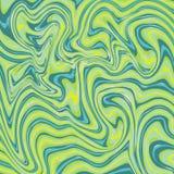 Κυματιστό ζωηρόχρωμο φωτεινό φρέσκο διανυσματικό σχέδιο λωρίδων Γεωμετρική αφηρημένη σύσταση μόδας Στοκ Εικόνες
