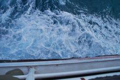Κυματιστό νερό της θάλασσας Στοκ φωτογραφία με δικαίωμα ελεύθερης χρήσης