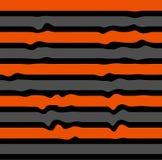 Κυματιστό ριγωτό σχέδιο άνευ ραφής σε τρίχρωμο διανυσματική απεικόνιση
