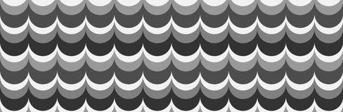 Κυματιστό υπόβαθρο στις σκιές γκρίζου απεικόνιση αποθεμάτων