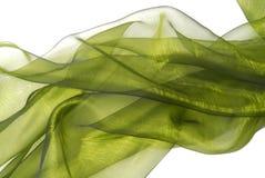 κυματιστό ύφασμα organza Στοκ φωτογραφία με δικαίωμα ελεύθερης χρήσης