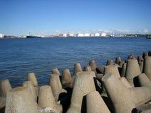 κυματοθραύστης Στοκ φωτογραφία με δικαίωμα ελεύθερης χρήσης
