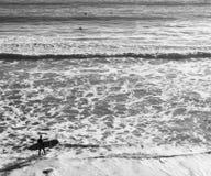 Κυματωγές επάνω στην εποχή Avila στην παραλία στοκ φωτογραφία με δικαίωμα ελεύθερης χρήσης