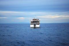 Κυματωγή από τη βάρκα Στοκ Εικόνες
