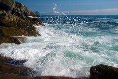 Κυματωγή θάλασσας Στοκ Φωτογραφίες