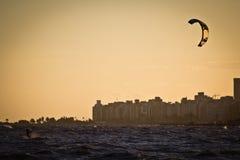 Κυματωγή ικτίνων - ηλιοβασίλεμα Στοκ φωτογραφία με δικαίωμα ελεύθερης χρήσης