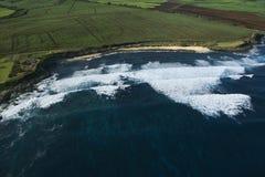 κυματωγή σημείων Maui Στοκ Φωτογραφίες