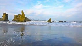 Κυματωγή στο Pacific Coast φιλμ μικρού μήκους
