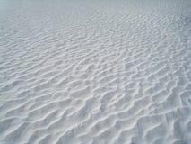 Κυματώσεις χιονιού Στοκ φωτογραφία με δικαίωμα ελεύθερης χρήσης