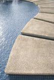κυματώσεις poolside Στοκ Εικόνες