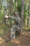 κυνήγι κυνηγών Στοκ φωτογραφία με δικαίωμα ελεύθερης χρήσης