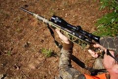 κυνήγι κυνηγών Στοκ Εικόνα