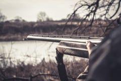 κυνήγι στοκ φωτογραφία