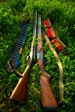 κυνηγετικά όπλα στοκ εικόνες