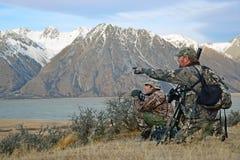 Κυνηγοί στην επιφυλακή Στοκ φωτογραφία με δικαίωμα ελεύθερης χρήσης