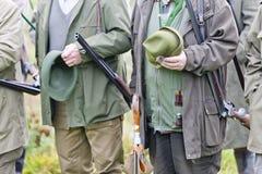 κυνηγοί Στοκ Εικόνα