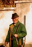 κυνηγός παλαιός στοκ εικόνα